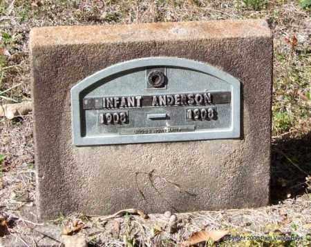 ANDERSON, INFANT - Garland County, Arkansas | INFANT ANDERSON - Arkansas Gravestone Photos