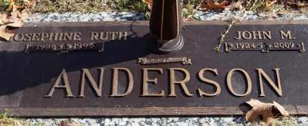 ANDERSON, JOSEPHINE RUTH - Garland County, Arkansas | JOSEPHINE RUTH ANDERSON - Arkansas Gravestone Photos