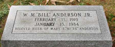 "ANDERSON, JR., WILLIAM M. ""BILL"" - Garland County, Arkansas | WILLIAM M. ""BILL"" ANDERSON, JR. - Arkansas Gravestone Photos"