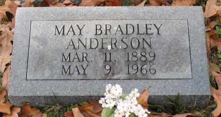 BRADLEY ANDERSON, MAY - Garland County, Arkansas | MAY BRADLEY ANDERSON - Arkansas Gravestone Photos