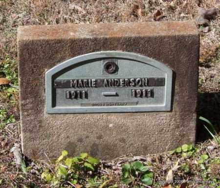 ANDERSON, MARIE - Garland County, Arkansas | MARIE ANDERSON - Arkansas Gravestone Photos