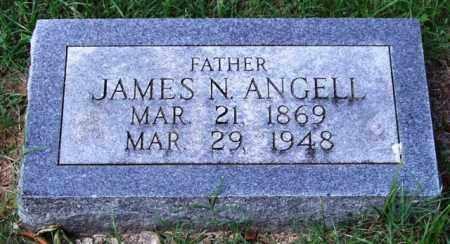 ANGELL, JAMES N. - Garland County, Arkansas   JAMES N. ANGELL - Arkansas Gravestone Photos