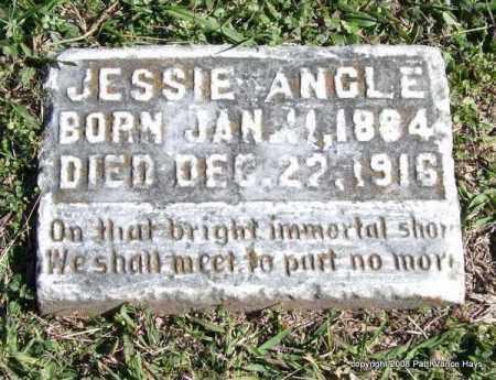 ANGLE, JESSIE - Garland County, Arkansas | JESSIE ANGLE - Arkansas Gravestone Photos