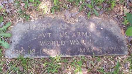 ANTHONY (VETERAN WWI), JESSIE - Garland County, Arkansas   JESSIE ANTHONY (VETERAN WWI) - Arkansas Gravestone Photos