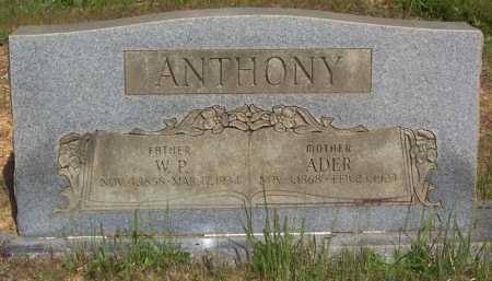 ANTHONY, ADER (ADA) - Garland County, Arkansas | ADER (ADA) ANTHONY - Arkansas Gravestone Photos
