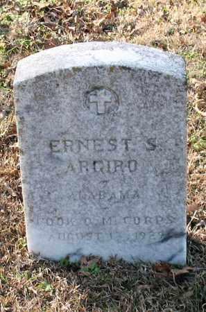 ARGIRO (VETERAN), ERNEST S - Garland County, Arkansas   ERNEST S ARGIRO (VETERAN) - Arkansas Gravestone Photos