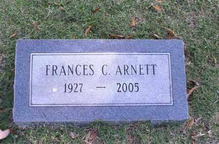 ARNETT, FRANCES C. - Garland County, Arkansas | FRANCES C. ARNETT - Arkansas Gravestone Photos