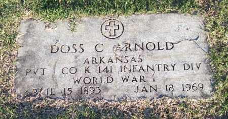 ARNOLD (VETERAN WWI), DOSS C - Garland County, Arkansas | DOSS C ARNOLD (VETERAN WWI) - Arkansas Gravestone Photos