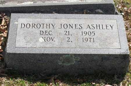 JONES ASHLEY, DOROTHY - Garland County, Arkansas | DOROTHY JONES ASHLEY - Arkansas Gravestone Photos