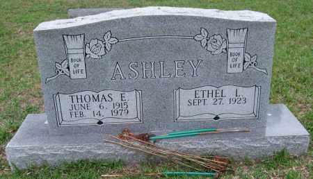 ASHLEY, THOMAS E. - Garland County, Arkansas   THOMAS E. ASHLEY - Arkansas Gravestone Photos