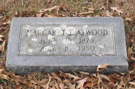 ATWOOD, MARGARET E. - Garland County, Arkansas | MARGARET E. ATWOOD - Arkansas Gravestone Photos