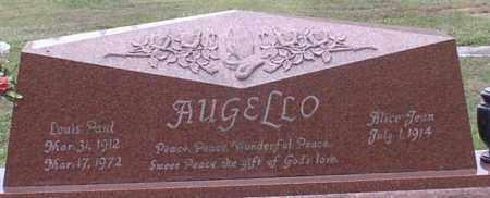 AUGELLO, LOUIS PAUL - Garland County, Arkansas   LOUIS PAUL AUGELLO - Arkansas Gravestone Photos
