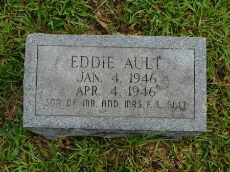 AULT, EDDIE - Garland County, Arkansas | EDDIE AULT - Arkansas Gravestone Photos