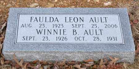 AULT, FAULDA LEON - Garland County, Arkansas | FAULDA LEON AULT - Arkansas Gravestone Photos