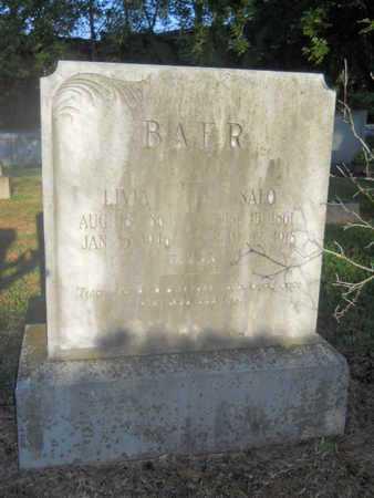BAER, SALO - Garland County, Arkansas   SALO BAER - Arkansas Gravestone Photos