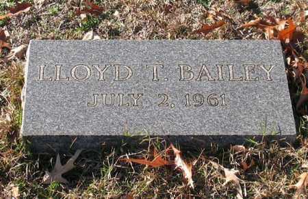 BAILEY, LLOYD T. - Garland County, Arkansas | LLOYD T. BAILEY - Arkansas Gravestone Photos
