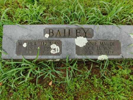 BAILEY, MATHEW THOMAS - Garland County, Arkansas | MATHEW THOMAS BAILEY - Arkansas Gravestone Photos