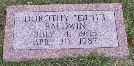 BALDWIN, DOROTHY - Garland County, Arkansas | DOROTHY BALDWIN - Arkansas Gravestone Photos