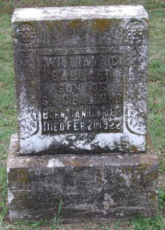 BALLARD, WILLIAM C. - Garland County, Arkansas | WILLIAM C. BALLARD - Arkansas Gravestone Photos