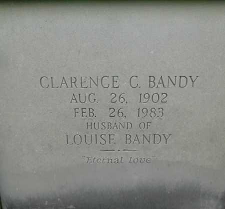 BANDY, CLARENCE C. - Garland County, Arkansas | CLARENCE C. BANDY - Arkansas Gravestone Photos