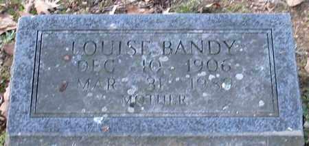 BANDY, LOUISE - Garland County, Arkansas | LOUISE BANDY - Arkansas Gravestone Photos