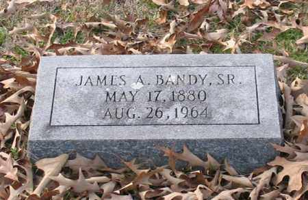 BANDY, SR., JAMES A. - Garland County, Arkansas | JAMES A. BANDY, SR. - Arkansas Gravestone Photos