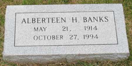 BANKS, ALBERTEEN H. - Garland County, Arkansas   ALBERTEEN H. BANKS - Arkansas Gravestone Photos