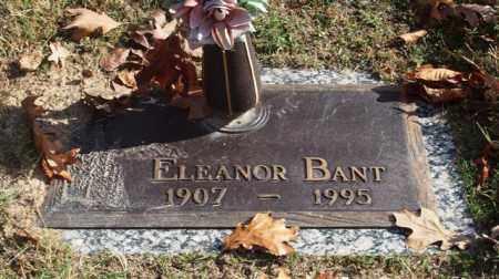 BANT, ELEANOR - Garland County, Arkansas | ELEANOR BANT - Arkansas Gravestone Photos