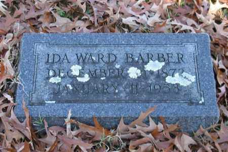 WARD BARBER, IDA - Garland County, Arkansas | IDA WARD BARBER - Arkansas Gravestone Photos