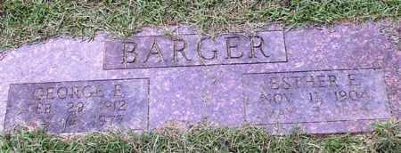 BARGER, GEORGE E. - Garland County, Arkansas   GEORGE E. BARGER - Arkansas Gravestone Photos