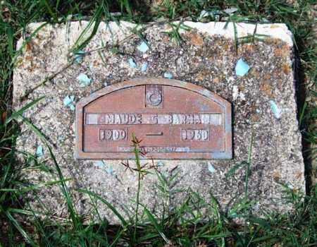 BARHAM, MAUDE - Garland County, Arkansas | MAUDE BARHAM - Arkansas Gravestone Photos