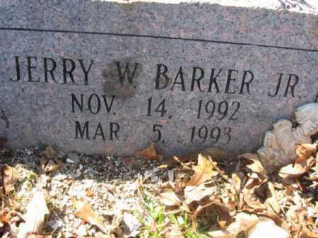 BARKER, JR., JERRY W. - Garland County, Arkansas   JERRY W. BARKER, JR. - Arkansas Gravestone Photos
