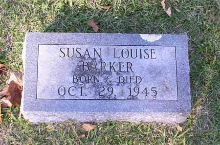 BARKER, SUSAN LOUISE - Garland County, Arkansas   SUSAN LOUISE BARKER - Arkansas Gravestone Photos