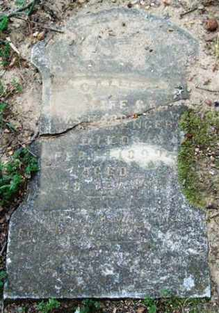 BARRENGER, CALLEY - Garland County, Arkansas   CALLEY BARRENGER - Arkansas Gravestone Photos