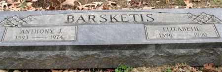 BARSKETIS, ELIZABETH - Garland County, Arkansas   ELIZABETH BARSKETIS - Arkansas Gravestone Photos