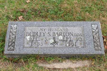 BARTON, DUDLEY S. - Garland County, Arkansas | DUDLEY S. BARTON - Arkansas Gravestone Photos