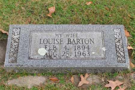 BARTON, LOUISE - Garland County, Arkansas | LOUISE BARTON - Arkansas Gravestone Photos