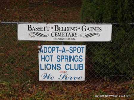 *SIGN,  - Garland County, Arkansas    *SIGN - Arkansas Gravestone Photos