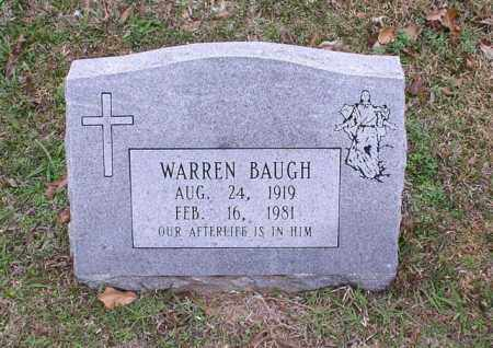 BAUGH, WARREN - Garland County, Arkansas | WARREN BAUGH - Arkansas Gravestone Photos