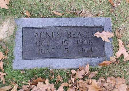 BEACH, AGNES - Garland County, Arkansas   AGNES BEACH - Arkansas Gravestone Photos