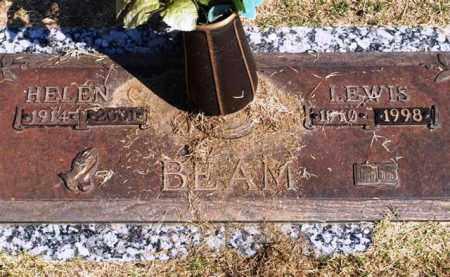 BEAM, LEWIS - Garland County, Arkansas | LEWIS BEAM - Arkansas Gravestone Photos