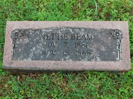 BEAM, NETTIE - Garland County, Arkansas | NETTIE BEAM - Arkansas Gravestone Photos