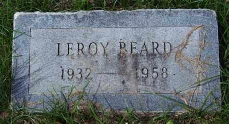 BEARD, LEROY - Garland County, Arkansas | LEROY BEARD - Arkansas Gravestone Photos