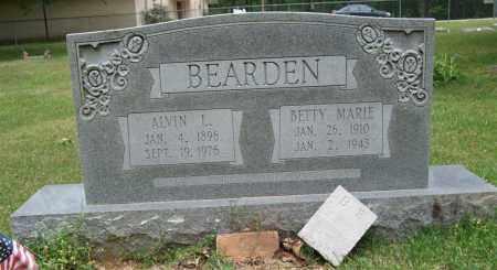BEARDEN, BETTY MARIE - Garland County, Arkansas | BETTY MARIE BEARDEN - Arkansas Gravestone Photos