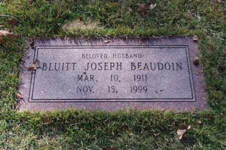 BEAUDOIN, BLUITT JOSEPH - Garland County, Arkansas | BLUITT JOSEPH BEAUDOIN - Arkansas Gravestone Photos