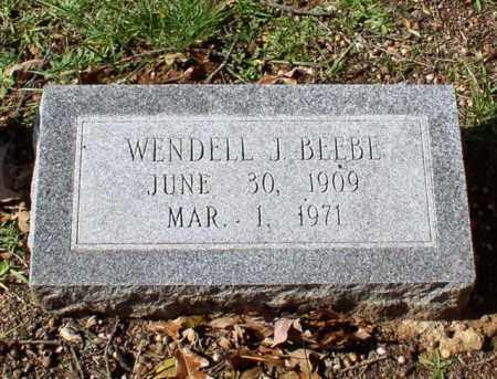 BEEBE, WENDELL J. - Garland County, Arkansas | WENDELL J. BEEBE - Arkansas Gravestone Photos