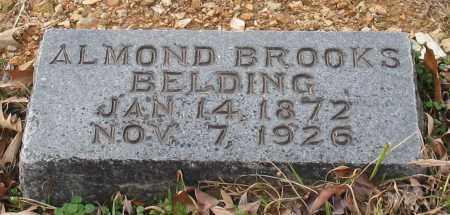 BELDING, ALMOND BROOKS - Garland County, Arkansas | ALMOND BROOKS BELDING - Arkansas Gravestone Photos