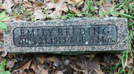 BELDING, EMILY - Garland County, Arkansas | EMILY BELDING - Arkansas Gravestone Photos