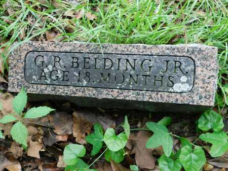 BELDING, JR., G. R. - Garland County, Arkansas   G. R. BELDING, JR. - Arkansas Gravestone Photos