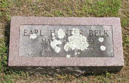 BELK, EARL HUNTER - Garland County, Arkansas | EARL HUNTER BELK - Arkansas Gravestone Photos